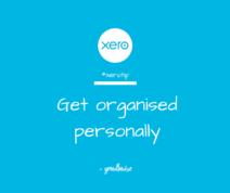 Xero Tip - get organised personally