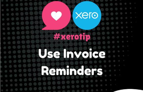 Xero Tip - Use Invoice Reminders