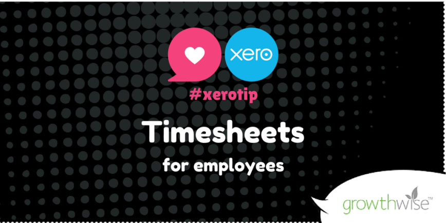 Xero Tip Twitter Timesheets For Employees